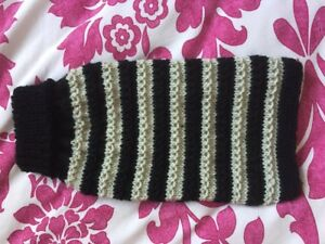 """New Small Hand-knitted Dog Puppy Jumper Cat Kitten Length 10"""" Terrier Chihuahua"""