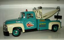 Ford F-100 Pick-up Tow Truck Année de construction 1956 Bleu Foncé 1 18 Welly