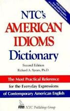 Ntc's American Idiom Dictionary (National Textbook Language Dictionari-ExLibrary