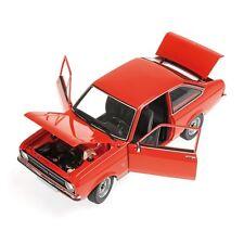 Minichamps - 150084100 Ford Escort MK2 1.3 LHD orange foncé échelle 1:18