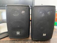 New listing Dual Electronics Lu43Pb 3-Way Indoor/Outdoor Speakers - Black