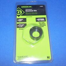"Greenlee Conduit-3/4"", Hole Size: 1.12"" Knockout Die 9992496.0 *New *Pzf*"