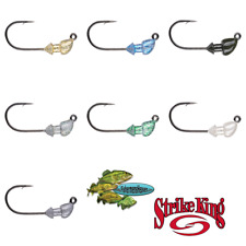 Strike King Jighead Baby Squadron Swimbait Head BSSH Pick Any Size or Color Lure