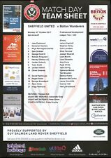 B10 Sheffield United v Bolton Wanderers 16/10/17 Under 23 PDL Division 2 North