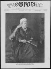 1900 Antique Print - PORTRAITS Queen Osborne Chancellor Son Dublin Fan Veil(328)