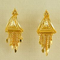Indian Ethnic Traditional GoldPlated Earrings Women Desinger Eattings Jewelry