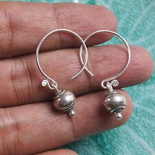 Earrings Karen Hill tribe Pure Silver Thai Handmade