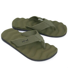 Army Style Flip Flops - EVA Foam - Olive Green Sandals for Beach Summer Outdoor