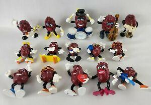 Lot of 15 California Raisins figurines Applause Vintage 1987-1988