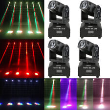 4PCS 60W RGBW LED Stage Lamp Moving Head Light DMX512 11/13CH Beam DJ Party E1P4
