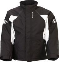 Arctiva Womens Pivot 3 Jacket Black/White Ladies Snowmobile jacket Size S-XL