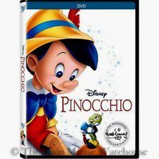 The Walt Disney Signature Collection Animated Masterpiece Pinocchio on DVD
