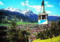 Wankbahn gegen Garmisch-Partenkirchen ,ungelaufene AK