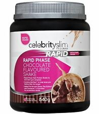 => Celebrity Slim Rapid Weight Loss Chocolate 840g shake,FREE SHAKER ON MULTIPLE