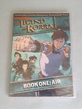 THE LEGEND OF KORRA: BOOK ONE - AIR NEW & SEALED DVD MINT CON NICKELODEON LAST