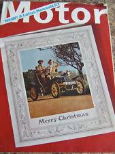 December Motor Cars, 1960s Transportation Magazines