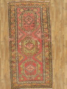 "Hand-Made  Antique karabaj 3'9"" x 7'6"" Hand-Knotted  4X6 Area Rug"