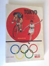 RARE album chromos Tokyo 1964 Jeux Olympiques Rizla Milou Bubble Gum Tintin TBE