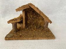 "Fontanini Vintage Stable Rare 2-1/2"" Miniature Heirloom Nativity Christmas Roman"