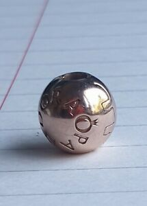 Genuine pandora rose gold bead/clip/charm