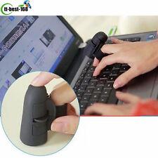 Mini Wireless USB Finger Mouse Optical Handheld Trackball Ring Mice fr Laptop PC