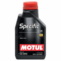 Motul Specific LL-04 5W-40 Fully Synthetic BMW Engine Oil Motor 5W40 1 Litre 1L