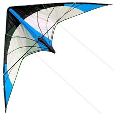 Free Shipping New 48-Inch Dual Line Stunt Kites/ Blue Kite Outdoor Fun Sports