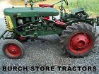 RARE ~ OLIVER Super 44 Offset Tractor with FRONT CULTIVATORS and FACTORY TOOLBAR