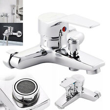 Bathroom Tub Shower Faucet Wall Mount Shower Head Bath Faucet Valve Mixer Tap N