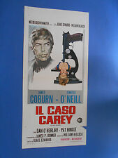 LOCANDINA IL CASO CAREY JAMES COBURN JENNIFER O' NEILL A3