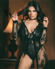 Darcie Dolce Sexy Black Lingerie Wow Adult Model Signed 8x10 Photo COA Proof 11A