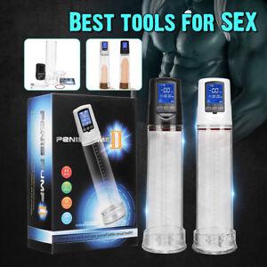 Automatic USB Men's Electric Male Penis Vacuum Pump Extender Enlarger Enhancer
