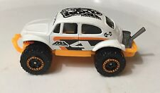 Match Box Vw 4x4 Beetle Volkswagen Baja Bug 1/64  White