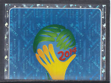 Panini - Brazil 2014 World Cup - # 2 Foil 2014 World Cup Logo - Platinum