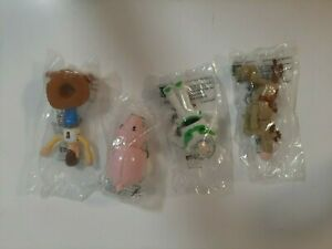 1999 McDonald's Toys Disney Pixar Lot of 4 Toy Story 2 Figures