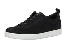 ECCO Women's Soft 1 Women's Leather Sneaker Black