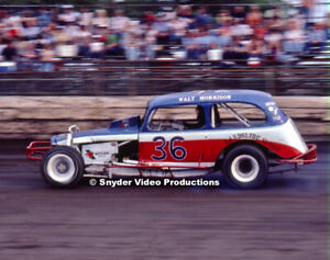 Walt Morrison at Flemington Fair Speedway Photo