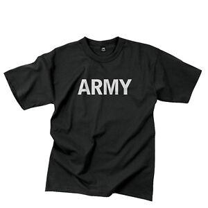 Rothco Armée Réflectif Gris P/T T-Shirt