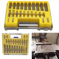 150x Mini Micro HSS Power High Speed Steel Drill Bit Twist Kits Set 0.4-3.2mm
