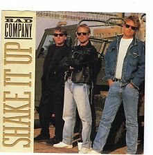 BAD COMPANY  (Shake It Up)  Atlantic 7-88939 = PICTURE SLEEVE ONLY!!!