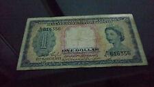 1953 Malaya $1 note