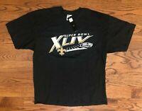 New Orleans Saints Football 2010 Super Bowl XLIV Roster T-Shirt Men's XL NWT
