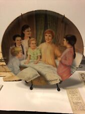 Knowles Sound Of Music Collector Plate My Favorite Things Plate #3 Box+Coa