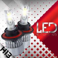 For 2004-2013 Ford F-150 1200W 180000LM H13 9008 CREE LED Headlight Hi&Lo Beam