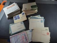 """Bund/Berlin ab 1958, 100 Briefe mit """"netten"""" EF/MEF, dazu viele Bildganzsachen"""