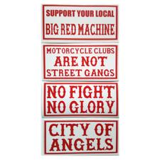 Hells Angels Original 81 Support your local Big Red Machine Autocollant Set 4tlg.
