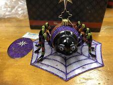 """Christopher Radko """"hangin' Around� Spider Ornament"""