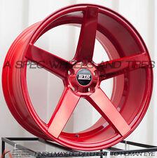 20X9 20X10.5 +40 STR 607 5X114.3 RED WHEEL FIT MUSTANG V6 GT SHELBY GT500 RIM