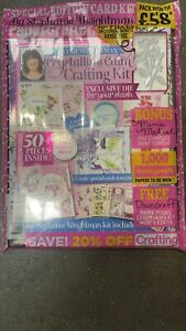Papercrafter magazine #157 2021 + Special Edition Crystalline Calm Crafting kit