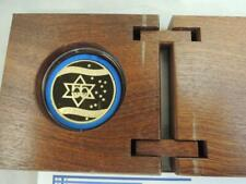 "2003 Israel 55th Anniversary- ""Yes to Israel"" State Medal 34mm 26g Pure Gold"